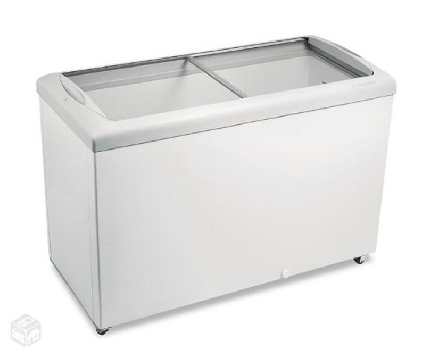 Freezer metalfrio hf40 horizontal branco